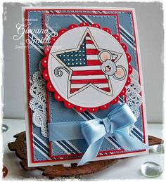 Patriotic Cocoa by giogio - Cards and Paper Crafts at Splitcoaststampers