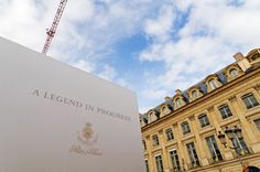 Ritz Paris opens officially March 14th, 2016