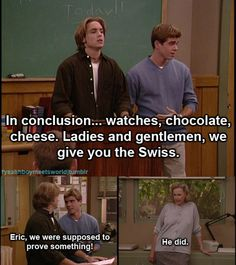 eric & jack. Eric is SO stupid.