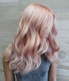 BLONDE PINK 100% Remy Clip In Human Hair Extensions, Double Wefted Clip-in Extensions, Rose Gold, Trendy Hair, 2017 Trends