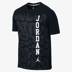 Air Jordan Wordmark Men's T-Shirt Mma T Shirts, Dri Fit T Shirts, Boys Shirts, Branded T Shirts, Printed Shirts, Casual Shirts, Best Mens T Shirts, Camisa Nike, Nike Clothes Mens