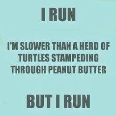 I run to stay health and I take Advocare to fuel my body! Befitwithspark.com