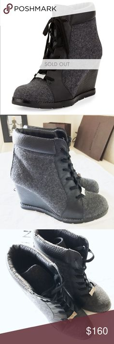 "‼️🎉 SALE🎉‼️$398, KATE SPADE ""SAJA"" BOOTIE SOLD OUT every where! Kate Spade New York Saja Lace-Up Wedge Bootie. Beautiful w/silver metal bow detail! They are in Great pre-loved condition. The only sign of wear is on each side of the bottom Wedge, it is noticeable if you look but could be covered with black shoe polish or black pen- doesn't take away from how AWESOME they are (THIS IS REFLECTED IN PRICE). kate spade Shoes Ankle Boots & Booties"