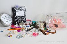 Fairy House, Fairy Garden kit.  How cute!  Fairy-Enchanting Kit. via Etsy.