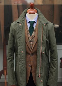 Tweed Country Sports This is how you layer. Menswear & suits inspiration