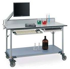 Phenolic Resin Work Table with or without Shelf From InterMetro