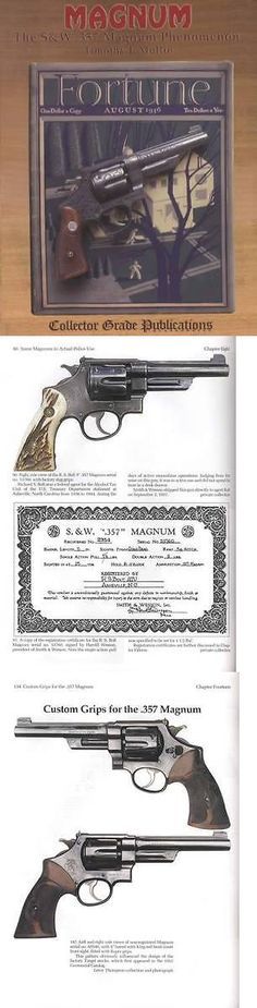 Books and Video 7304: Sandw 357 Magnum Phenomenon Smith Wesson Revolver Collector Guide Inc Vintage Rare -> BUY IT NOW ONLY: $62.95 on eBay!