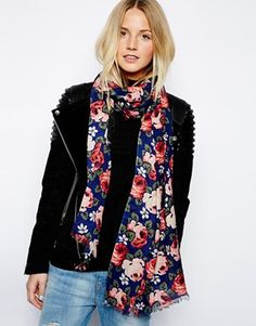 Image 1 of Cath Kidston Aubrey Rose Scarf