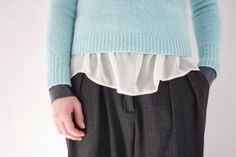 The Gradient Skies Wide Trousers, Loose Tops, Pullover, Blouse, Sweaters, How To Wear, Shopping, Fashion, Loose Tank Tops