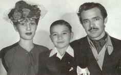"""Germán Valdés """"Tintan"""" todo un hombre de familia."""