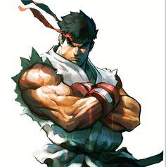 Ryu by James Ghio Comic Art, Comic Books Art, Book Art, Ryu Street Fighter, Super Street Fighter, Arte Ninja, Ninja Art, Street Fighter Characters, Fantasy Characters