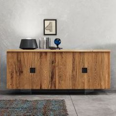 Quotidien Oak Sideboard