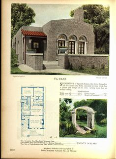 Art Deco House Plans! | Art Deco Resource | Blue Prints from the ...