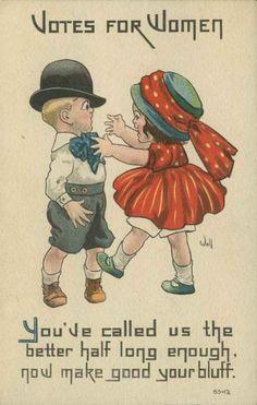 14 Wonderfully Sassy Vintage Valentines From Suffragists
