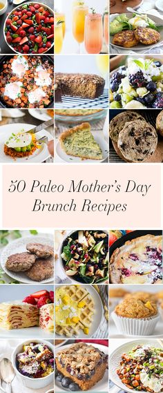 15 Of The Best Paleo Brunch Recipes Paleo Recipes Pinterest