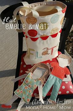 craft, felt dolls, paper dolls, flat, fabric paper, fabric dolls, diy gifts, papers, kid