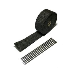 Find More Exhaust & Exhaust Systems Information about 5m Heat Exhaust Thermo Wrap Shield Protective Fireproof Insulating Cloth Black Motorcycle Exhaust Wrap With Cable Locking Ties,High Quality heat exhaust,China exhaust for motorcycle Suppliers, Cheap exhaust heat shield from HelloRacer Store on Aliexpress.com