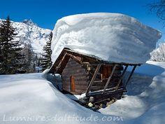 Mazot Savoyard a Tres les Champs, Chamonix