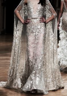 — Ziad Nakad Haute Couture Fall/Winter by jaime Haute Couture Style, Couture Mode, Couture Fashion, Runway Fashion, High Fashion, Fashion Pics, Elie Saab, Beautiful Gowns, Beautiful Outfits