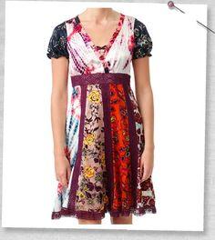 silk dress, by Odd Molly