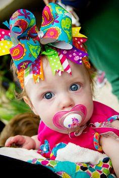 Colorful & Bowdacious Paisley Bow. $15.00, via Etsy.