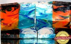 Fire & Water soap by Michelle