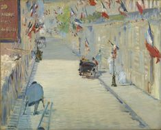 Items similar to The Rue Mosnier with Flags - Masterpiece Classic - Artist: Edouard Manet c. 1878 (Art Prints, Giclee, Wood & Metal Signs, Tote Bag, Towel) on Etsy Pierre Auguste Renoir, Edouard Manet, Mary Cassatt, Joan Mitchell, Edvard Munch, Camille Pissarro, Fine Art Prints, Framed Prints, Canvas Prints