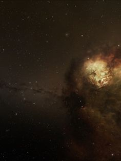#nebula #Cluster #stars. High resolution (1920x1080) wallpaper of this image available at http://www.mindblowingpicture.com/wallpaper/space/wpjaxhtb.html