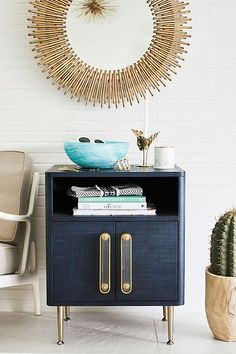 Give Your Apartment a Glam Makeover With Small-Space Furniture From Anthropologie - Daily Good Pin Decor, Furniture, Space Furniture, Furniture For Small Spaces, Hanging Furniture, Furniture Collections, Apartment Decor, Furniture Delivery, Nightstand
