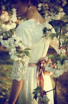 Oh they say when you're married in spring, you're a bride all your life,  and the bridegroom who marries in spring, has a sweetheart for a wife.