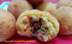 Per #Carnevale possiamo preparare anche un fritto salato no? Ecco a Voi i nostri arancini al ragù! Preparateli per stasera con la ricetta di #nonapritequellapentola !  http://blog.giallozafferano.it/nonapritequellapentola/arancini-al-ragu/