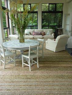 Loving The Seagr Rug Sunroom Furniturefurniture