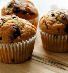 Best-Ever Banana Chocolate Chip Muffins: These delicious treats are just 102 calories each--not a bad way to get your sweet fix! | via @SparkPeople #food #recipe #snack