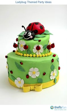 This is a guide about ladybug themed party ideas. Planning a party around a ladybug theme is so much fun.