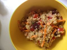Day 5 The Ultimate Reset-- Lunch Quinoa Salad  http://www.DoTheReset.com
