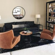 Our Hemming Swivel Armchair takes inspiration from the streamlined style of vintage Danish designs and comes in your choice of leather. We gave it a high back, winged sides and a deep, low seat, for an effect that's as comfortable as it is strikin… Leather Ottoman, Leather Sectional, Black Couches, Living Room Sectional, Swivel Armchair, Danish Design, Seat Cushions, Seo Tools, Interior Design