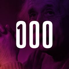 Logo for 100: A Century of Science by Ivan Colic, via Behance