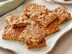 Energy Bars Recipe : Ellie Krieger : Food Network - FoodNetwork.com. I think I will take out the dried dates.