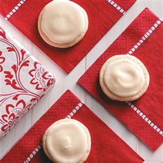 Frosted Eggnog Cookies Recipe