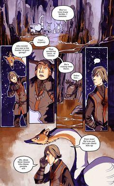A Redtail's Dream - webcomic