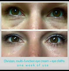 """Are dark circles haunting you every morning?  If so, you have got to try RF""""s multi-function eye cream!"""