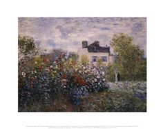 The Artist's Garden in Argenteuil (A Corner of the Garden with Dahlias), c.1873