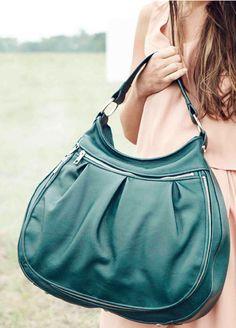 Technically Green - Alesya Bags laptop bag!!  Love it!!