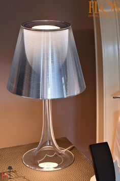 Miss k is a table lamp designed by Philippe Starck for FLOS.