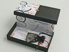 Convite casamento na caixa