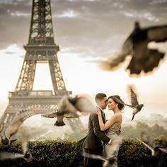 pre wedding in paris