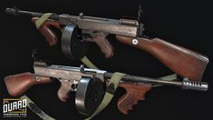 In this article I'm going to take you through my 6 week process of the making and what I have learned by making the Tommy 1928 game asset… Fallout 4 Weapons, Fallout Facts, Thompson 1928, Hard Surface Modeling, Gun Art, Submachine Gun, Weapon Concept Art, Military Weapons, Red Army