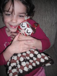 Jessie At Home!: Owlet Lovey ~ FREE Crochet Pattern