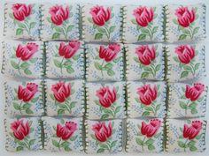 pink chita Tiles by Margapinta*, via Flickr