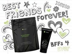 Let me tell you 'bout my best friend...   Teamwork makes the dream work! Enhance your Wrap results by using Defining Gel in between Wraps! These product besties give you results that will turn heads! #BetterTogether #NationalBestFriendsDay